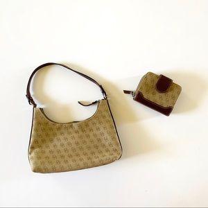 Dooney & Bourke Monogram Wallet & Shoulder Bag Set